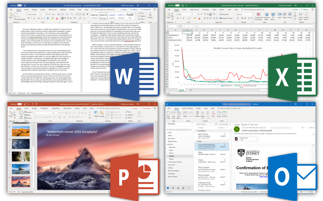 Microsoft Word & Excel